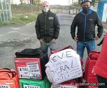 Em Suzano, poucos entregadores de aplicativos aderem à paralisação - Suzano Hoje