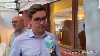 Thibaud Philipps est élu maire d'Illkirch-Graffenstaden. - alsace20.tv