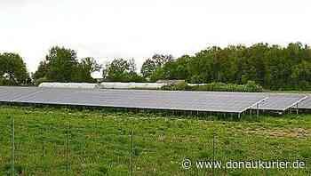 Photovoltaik ja, aber nicht an dieser Stelle - donaukurier.de