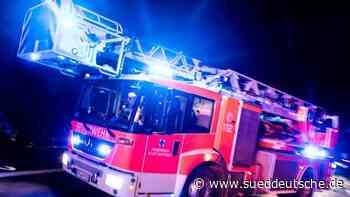 90-Jährige stirbt bei Hausbrand - Süddeutsche Zeitung