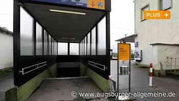 Ohne Treppensteigen zum Bahnsteig am Bahnhof Meitingen - Augsburger Allgemeine