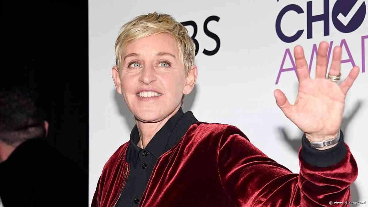 Show Ellen DeGeneres van de buis na kritiek? Dit zeggen de makers - RTL Nieuws