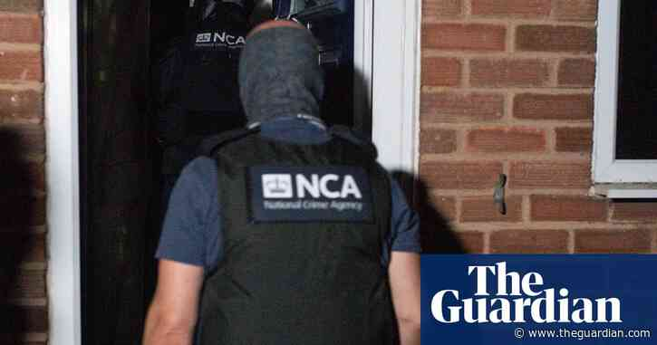 Hundreds arrested as UK organised crime network is cracked