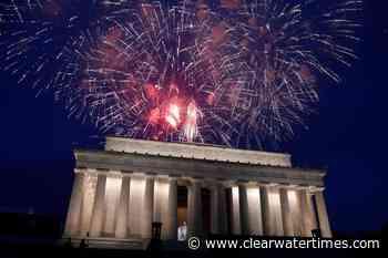 Trump plans huge July 4 fireworks show despite DC's concerns - Clearwater Times