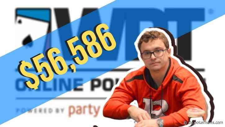 "David ""TheKing411"" Coleman Wins WPT Online Poker Open on partypoker US Network"
