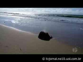 Caixa 'misteriosa' é encontrada na praia de Piedade - TV Jornal