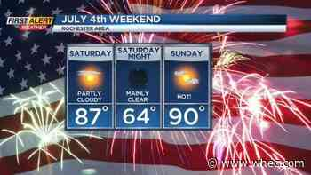 First Alert Weather Snapshot: Isolated storm Friday, great holiday weekend
