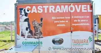 Castramóvel retoma atividades nesta sexta em Taquara - Jornal Correio do Povo