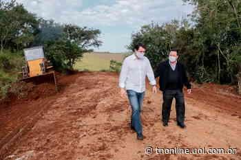 Prefeitura recupera estradas na região de São Pedro do Taquara - TNOnline - TNOnline