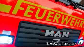 Mehrere zehntausend Euro Schaden bei Brand in Strohlager - Süddeutsche Zeitung