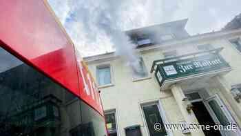 Feuerwehr übt in der Rastatt in Nachrodt - Gaffer legen Verkehr lahm - come-on.de