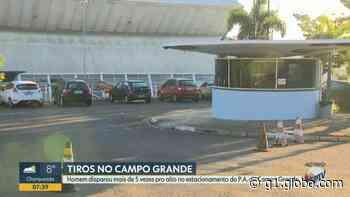 Homem efetua disparos no estacionamento do PA do Campo Grande em Campinas - G1