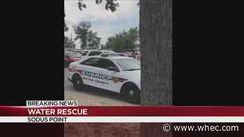 Water rescue underway at Sodus Point