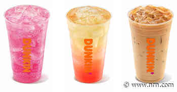 Dunkin' explores beverage trends with coffee and tea tests in restaurants in the Northeast