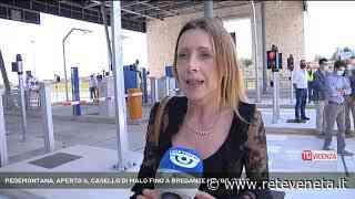 PEDEMONTANA, APERTO IL CASELLO DI MALO FINO A BREGANZE   18/06/20 - Rete Veneta