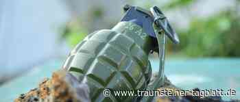 Kontrollierte Sprengung einer Weltkriegshandgranate in Siegsdorf - Traunsteiner Tagblatt