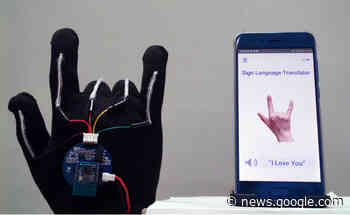 A high-tech glove can translate sign language with 99-percent accuracy - Engadget
