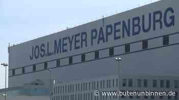 Meyer-Werft in Papenburg verlängert Kurzarbeit bis Jahresende - buten un binnen