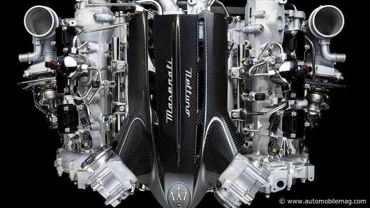 Nettuno Matata: Meet the 621-HP V-6 Heart of the Maserati MC20