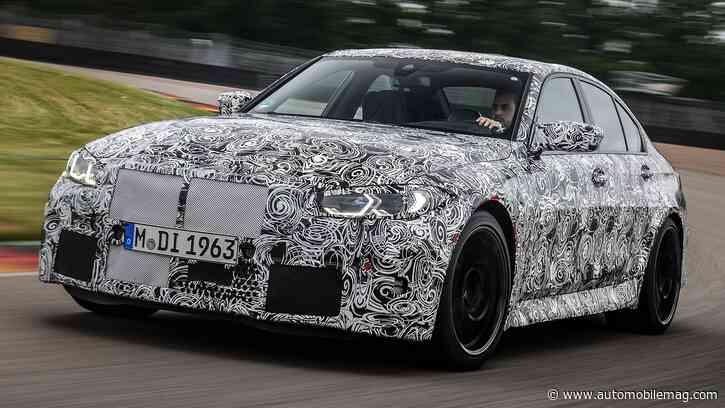 Mmm, Mmm! Watch the 2022 BMW M4's Manual Transmission Manhandled on Track