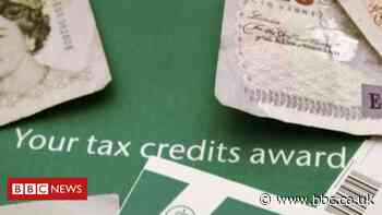People urged to check tax credits after HMRC error