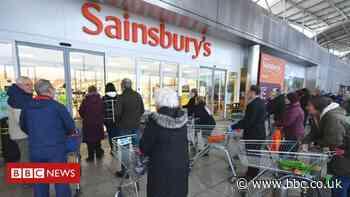 Sainsbury's sees online sales soar during lockdown