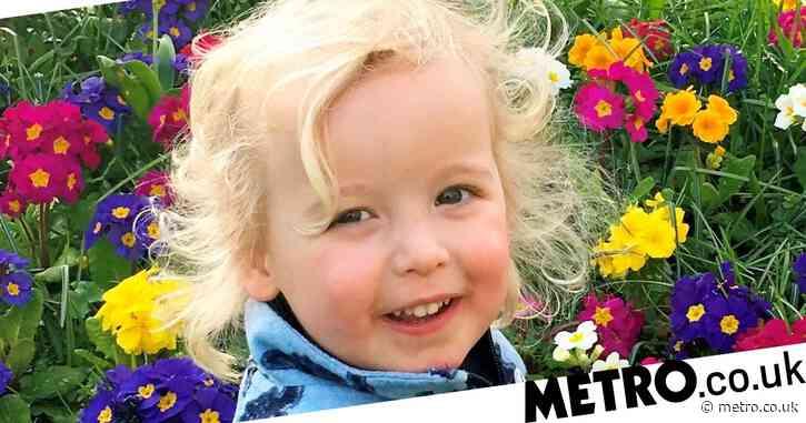 Boy, 3, killed in crash after car slammed into shop wall named as Xander Irvine