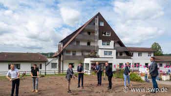 """Pflegeeinrichtung in Oberrot: Spatenstich fürs """"Rottaler"""" gesetzt - SWP"""