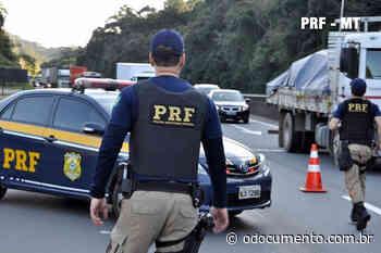 PRF recupera motocicleta em Canarana/MT - O Documento