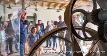 Alte Technik mit Elektromotor: Obere Mühle in Meckenheim mahlt fast wie 1921 - General-Anzeiger Bonn