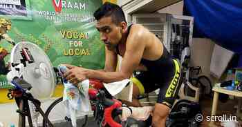 Lt Colonel Pannu completes Virtual Race Across America after cycling more than 4000 km for 12 days - Scroll.in