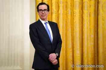 Secretário do Tesouro dos EUA diz que Casa Branca apoia novo pacote de estímulos à economia - Valor Econômico