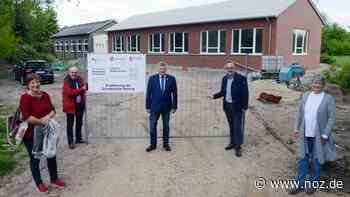 Erweiterungsbau fast fertiggestellt: Ab Sommer mehr Platz in der Grundschule Nortrup CC-Editor öffnen - noz.de - Neue Osnabrücker Zeitung