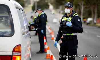 Melbourne police officer tests positive to coronavirus and six more cops ordered to self-isolate