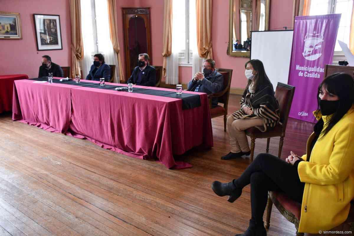 Danilo Capitani visitó la localidad de Casilda - Sin Mordaza