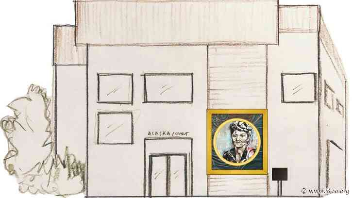 This July 4th, Native rights leader Elizabeth Peratrovich gets a new mural in Petersburg