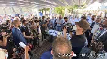 Salvini oggi a Porto Recanati, le foto - Cronaca - il Resto del Carlino