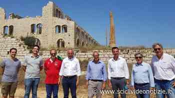 Scicli: convento della Croce e Fornace Penna, Samonà visita i due siti - Scicli Video Notizie