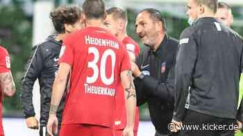 """FCH-Coach Schmidt: """"Wir drehen nicht durch"""""""