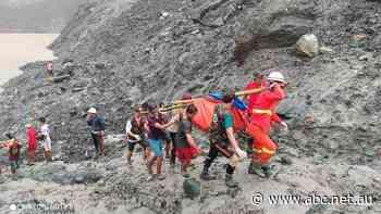 'Wave of mud': Landslide at Myanmar jade mine kills at least 162 people