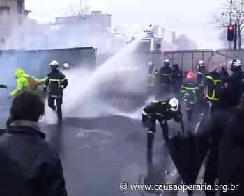 Prefeitura de Diadema libera uso de jatos d'água contra o povo - Causa Operária