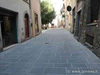 Via Montorsoli, strada sistemata nel centro di Poggibonsi - gonews