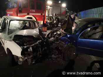 Motta Sant'Anastasia. Incidente stradale sulla Sp 13 - TVA Tele Video Adrano - Tele Video Adrano