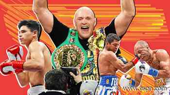 Boxing's midyear awards: From Tyson Fury's ascension to Ryan Garcia's promise