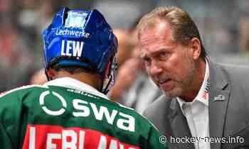 DEL: Augsburger Panther haben ihren Headcoach für die kommende Saison fixiert! - Hockey-News.Info Österreich