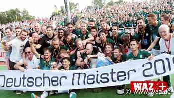 Hockey-Meister Uhlenhorst macht Olympiasieger zum Trainer - Westdeutsche Allgemeine Zeitung