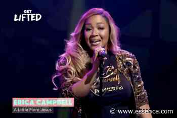Erica Campbell Performs at Get Lifted