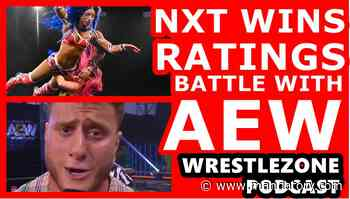 WWE NXT Wins Ratings Battle With AEW (WrestleZone Podcast)