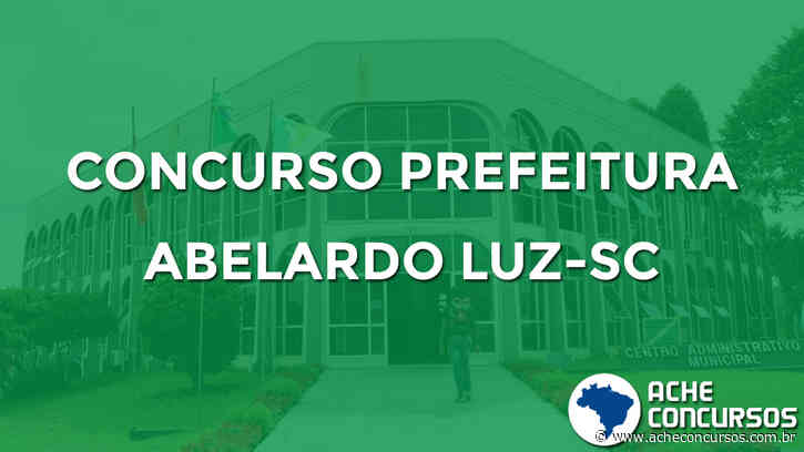 Concurso Prefeitura de Abelardo Luz-SC 2020 - Ache Concursos