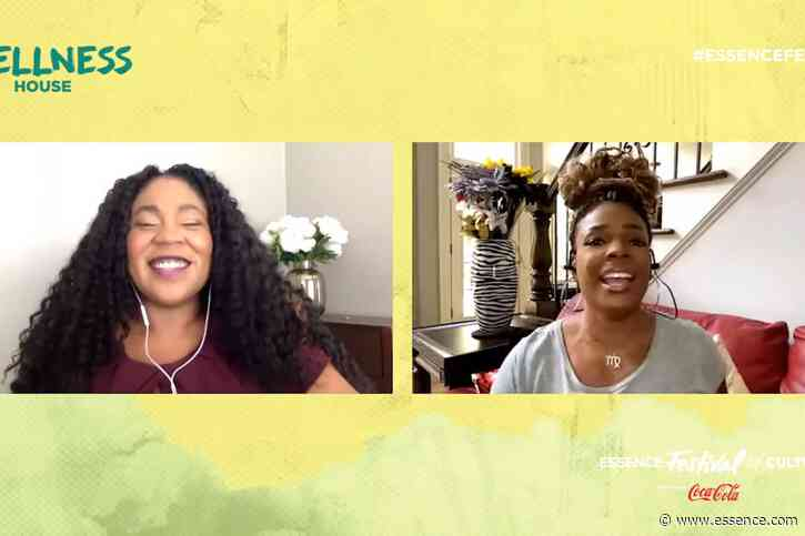 ESSENCE Festival Wellness House 2020: Syleena Johnson Has A Powerful Message For Women On A Weight Loss Journey